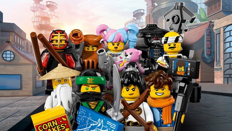 LEGO Minifigures Генерал армии Акул #1 (71019-11)