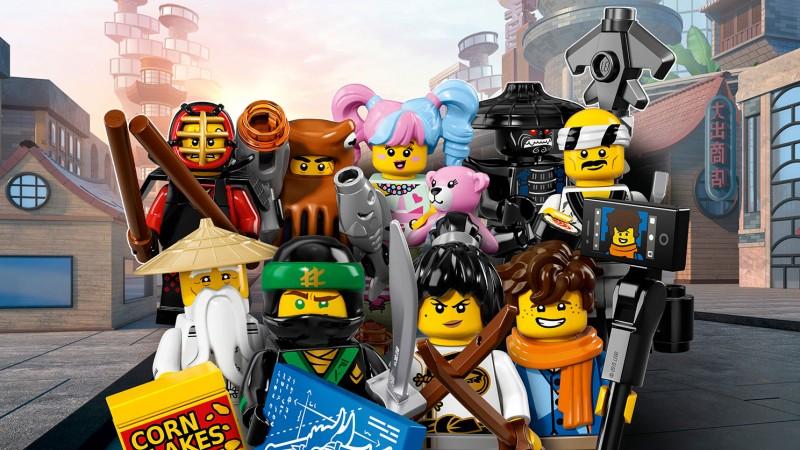 LEGO Minifigures Гонг и гитарный рокер (71019-17)