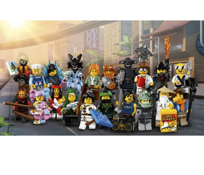 LEGO Minifigures Коул (71019-8)