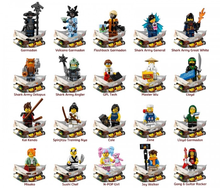 LEGO Minifigures Ллойд Гармадон (71019-7)