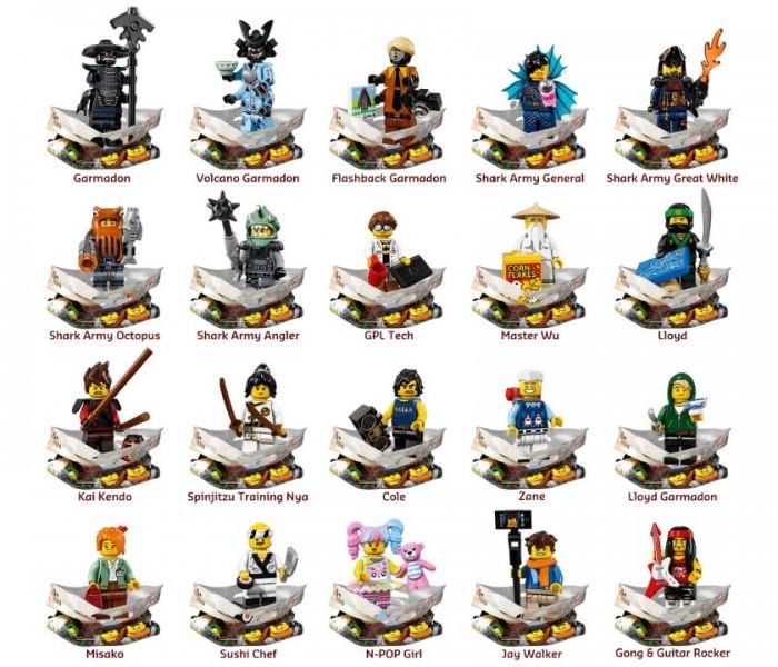 LEGO Minifigures Мастер Ву (71019-4)