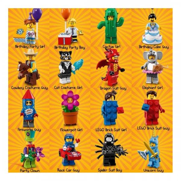 LEGO Minifigures Парень с гоночной машиной (71021-13)