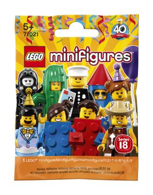 LEGO Minifigures Парень в праздничном торте (71021-10)