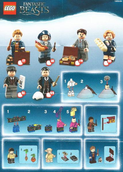LEGO Minifigures Персиваль Грейвс/Гриндевальд (71022-22)