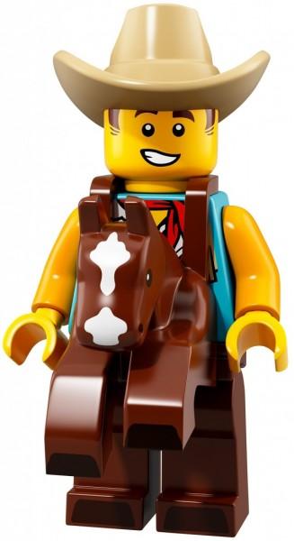 LEGO Minifigures Полная коллекция минифигурок 18 серии из 17 шт, с полицейским (71021_18)