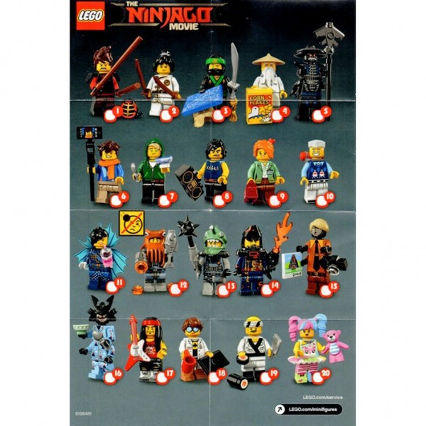 LEGO Minifigures Суши шеф (71019-19)