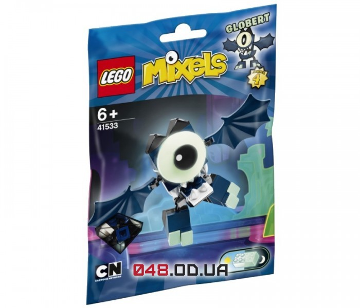 LEGO Mixels Глоберт серия 4 клан Глукис (41533)