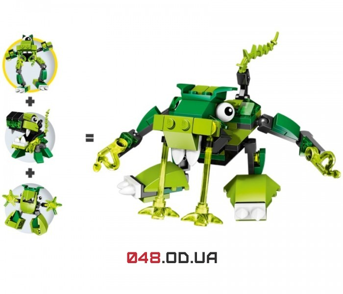 LEGO Mixels Глурт серия 3 клан Глорп Корп (41519)