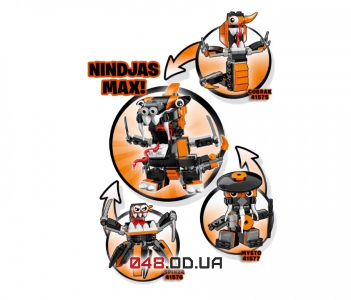 LEGO Mixels Кобракс серия 9 клан Ниндзя (41575)