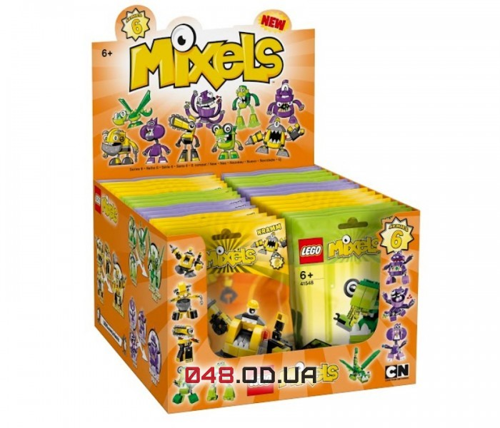 LEGO Mixels Крамм серия 6 клан Велдос (41545)