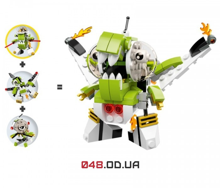 LEGO Mixels Никспутт серия 4 клан Орбитоны (41528)