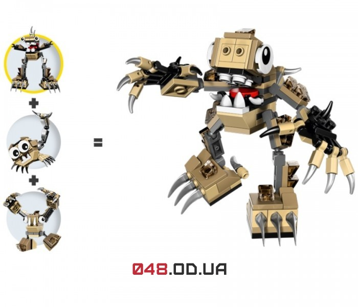 LEGO Mixels Скорпи серия 3 клан Спайклс (41522)
