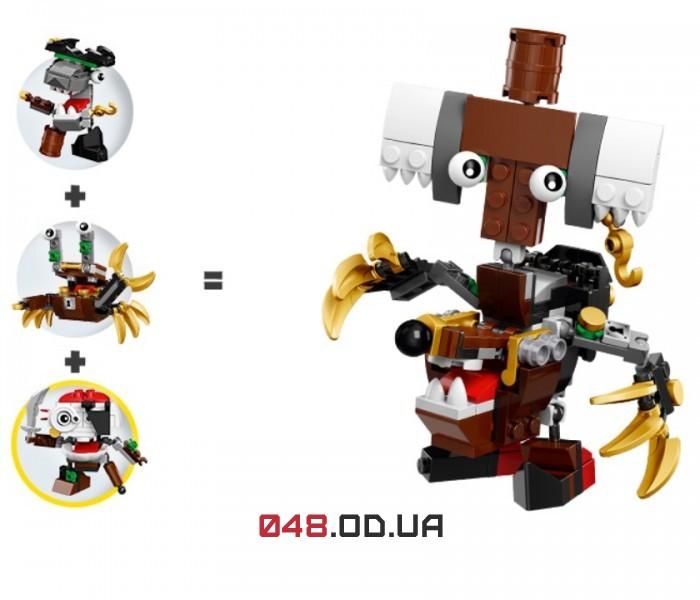 LEGO Mixels Скалзи серия 8 клан Пираты (41567)