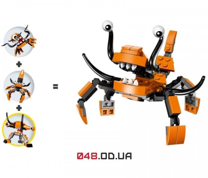LEGO Mixels Тентро серия 2 клан Флексеры (41516)
