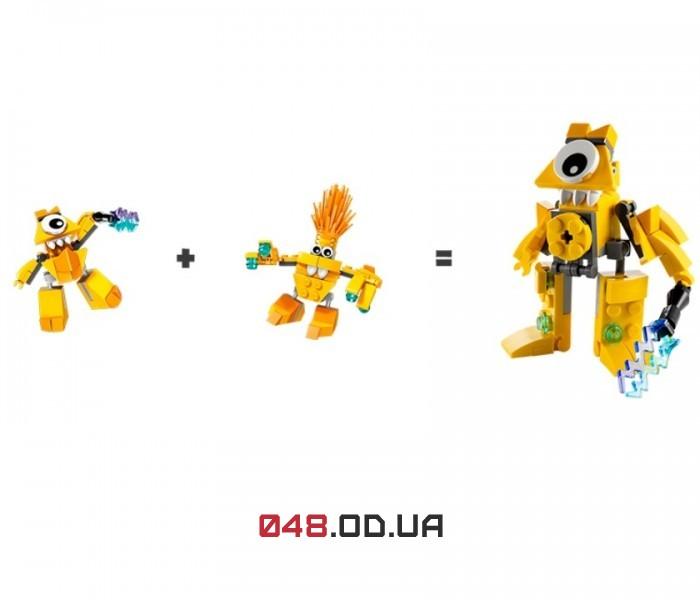 LEGO Mixels Волектро серия 1 клан Электроиды (41508)