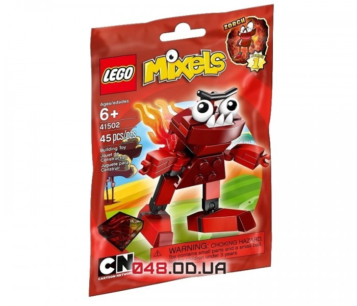 LEGO Mixels Зорч серия 1 клан Инферниты (41502)