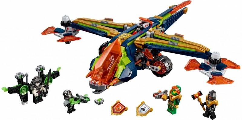 LEGO Nexo Knights Аэро-арбалет Аарона (72005)