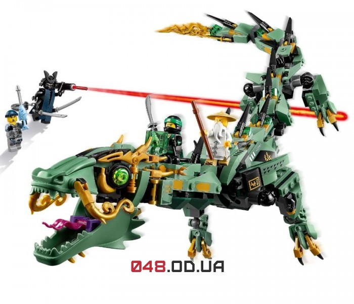 LEGO Ninjago Механический дракон Зелёного ниндзя (70612)