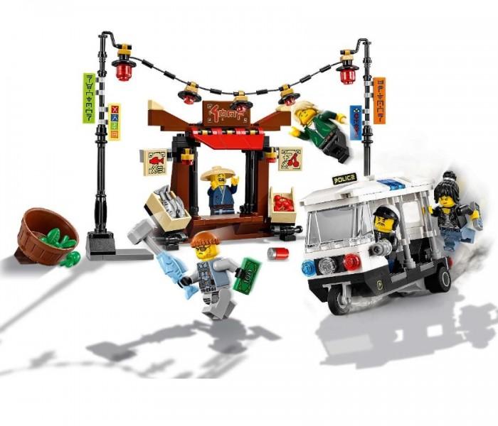LEGO Ninjago Ограбление киоска в НИНДЗЯГО Сити (70607)