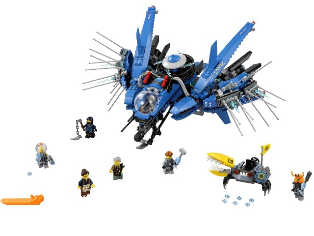 LEGO Ninjago Самолёт-молния Джея (70614)