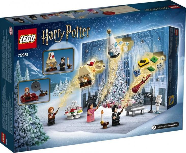 LEGO Новогодний адвент календарь Гарри Поттер на 2020 г. (75981)