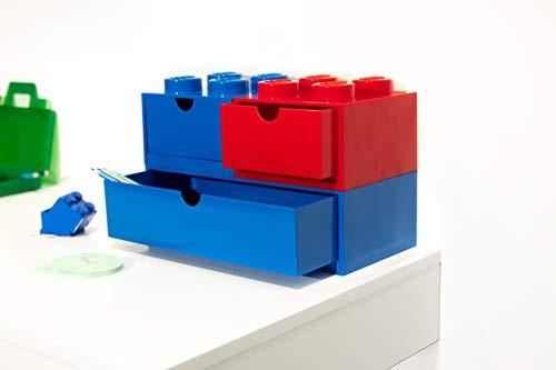 LEGO Органайзер на стол с выдвижным ящиком на 8 точек (красный)