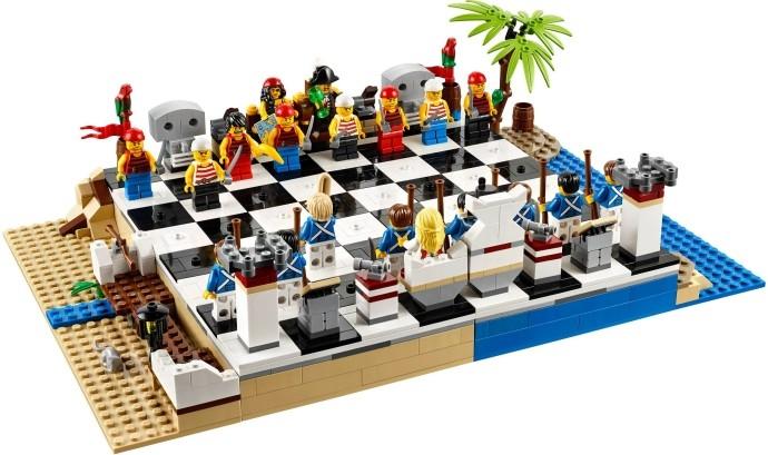LEGO Pirates Набор с пиратскими шахматами (40158)