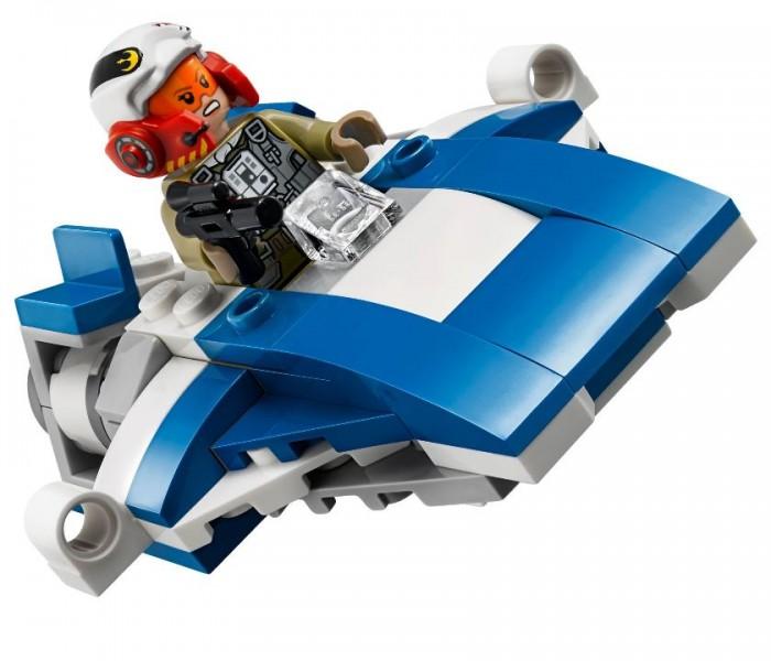 LEGO Star Wars  Истребитель A-Wing против истребителя TIE Кайло Рена (75196)
