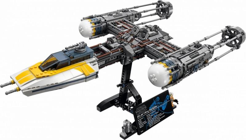 LEGO Star Wars  Звёздный истребитель Y-wing (75181)