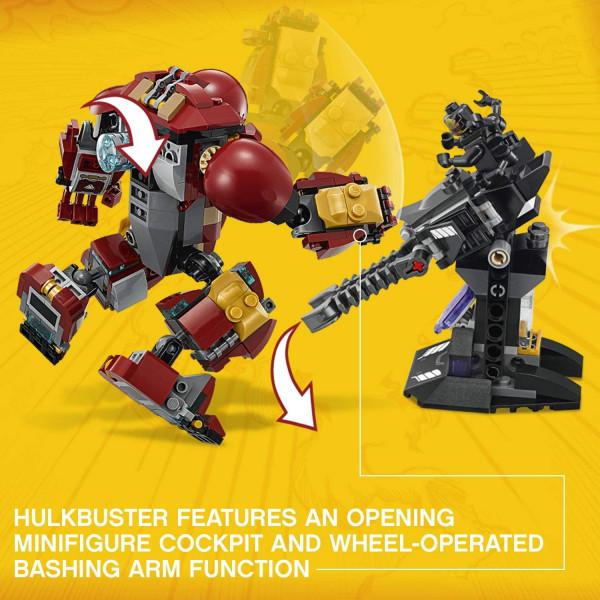 LEGO Super Heroes Война бесконечности: Бой Халкбастера (76104)