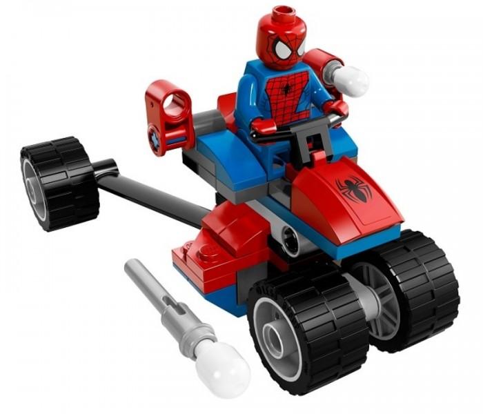 LEGO Super Heroes Трехколесный мотоцикл человека-паука против Электро (76014)