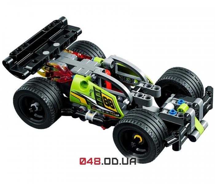 LEGO Technic БАМЦ! Зелений гоночний автомобиль (42072)