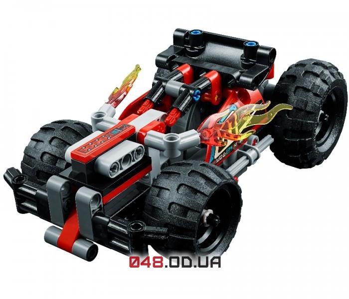 LEGO Technic БЕМЦ Красный гоночный автомобиль (42073)