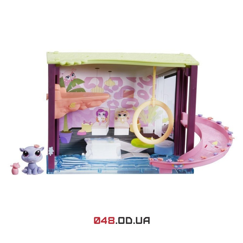 Мини-игровой набор Littlest Pet Shop Бассейн Pawza Pool (A7641_B0119)