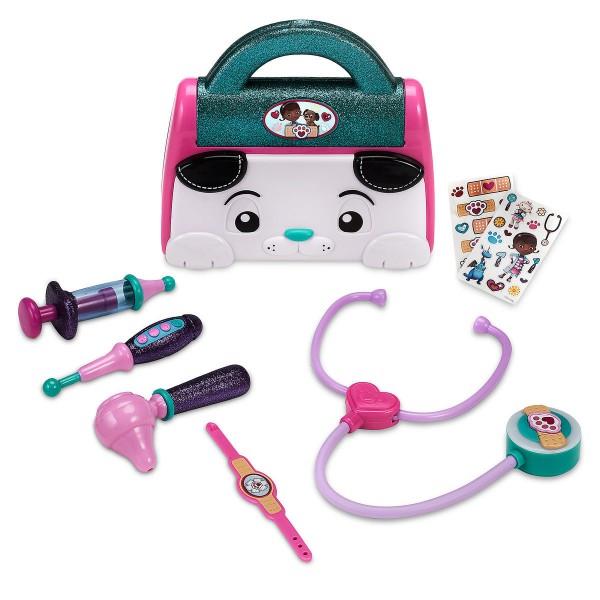 Игровой набор доктор Плюшева с чемоданчиком