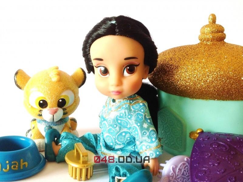 Набор игровой Дисней мини куколка-аниматор малышка Жасмин с набором игрушек