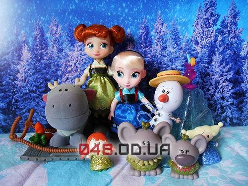 Игровой набор принцесса Анна мини аниматор Дисней(Frozen, Холодное сердце) с набором игрушек