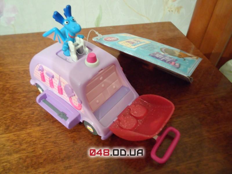 Мини офис-мобиль Дисней Доктора Плюшевой, озвучка на английском (Disney Doc Mcstuffins Mobile Office)
