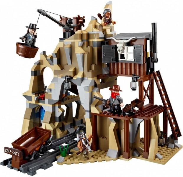 Lego The Lone Ranger Перестрелка у серебряной шахты (79110)