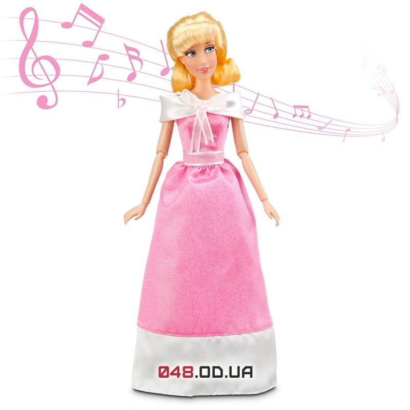 Кукла принцесса дисней Золушка , поет+ аксессуары и платье