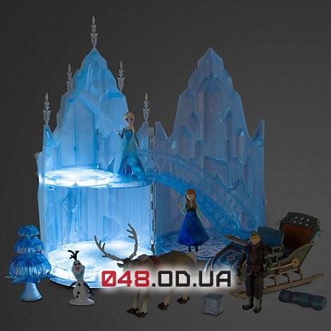 Игровой набор Дисней Замок Эльзы музыкальный с фигурками