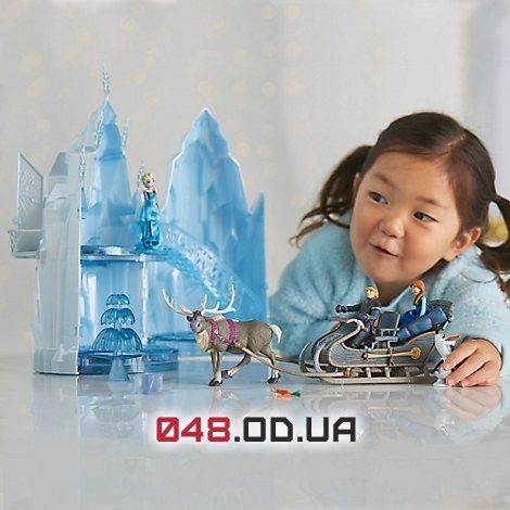 Замок Эльзы Дисней музыкальный (Elsa musical ice castle play set)