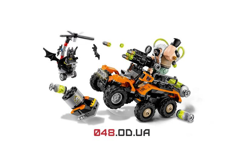 THE LEGO BATMAN MOVIE Химическая атака Бэйна (70914)