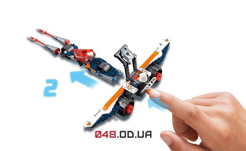 LEGO NEXO KNIGHTS Турнирная машина Ланса (70348)